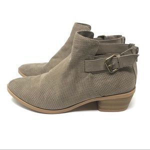Dolce Vita Sam 8 Cut Out Perforated Ankle Booties
